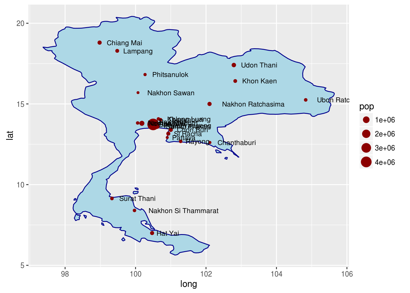 Using Maps in ggplot2 | educational research techniques