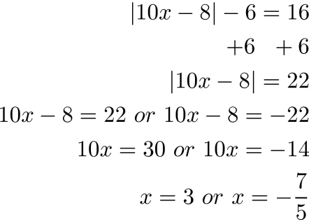 Absolute Value Equations Inequalities Educational Research