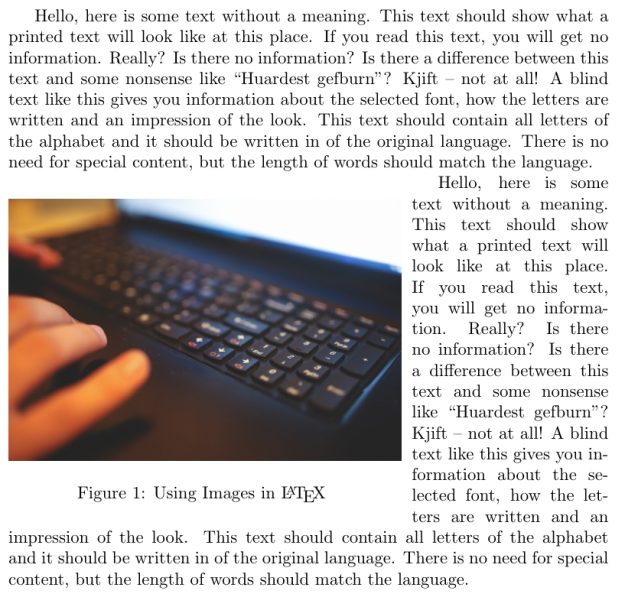 Insert Images into a LaTeX Document | educational research